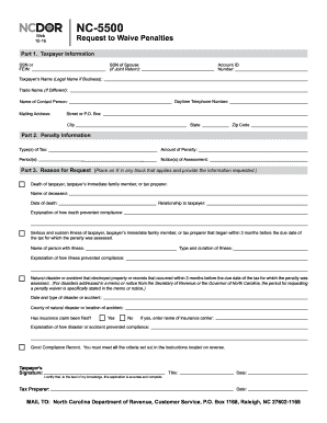 application for property tax relief nc 2016