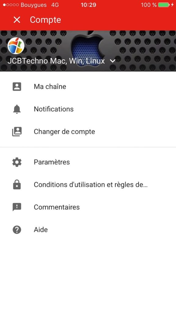 controle parental application youtube android