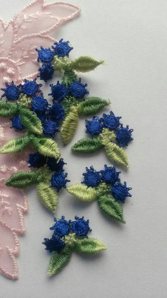 how to applique small pieces