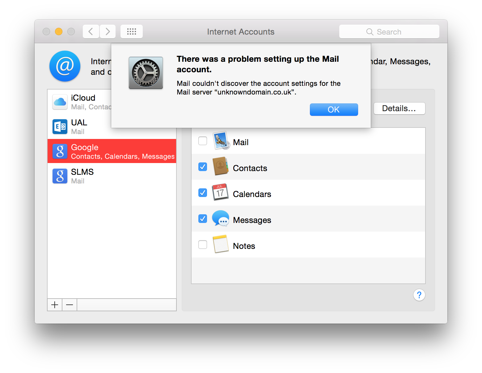google application specific password mac mail