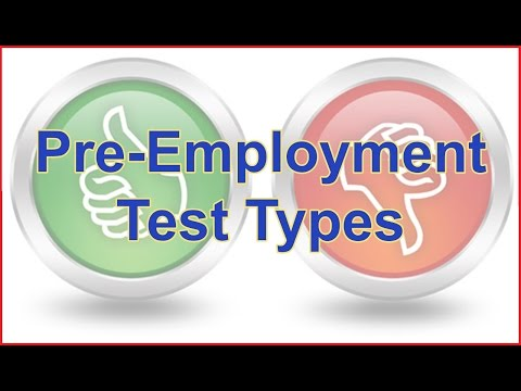 job application personality test questions