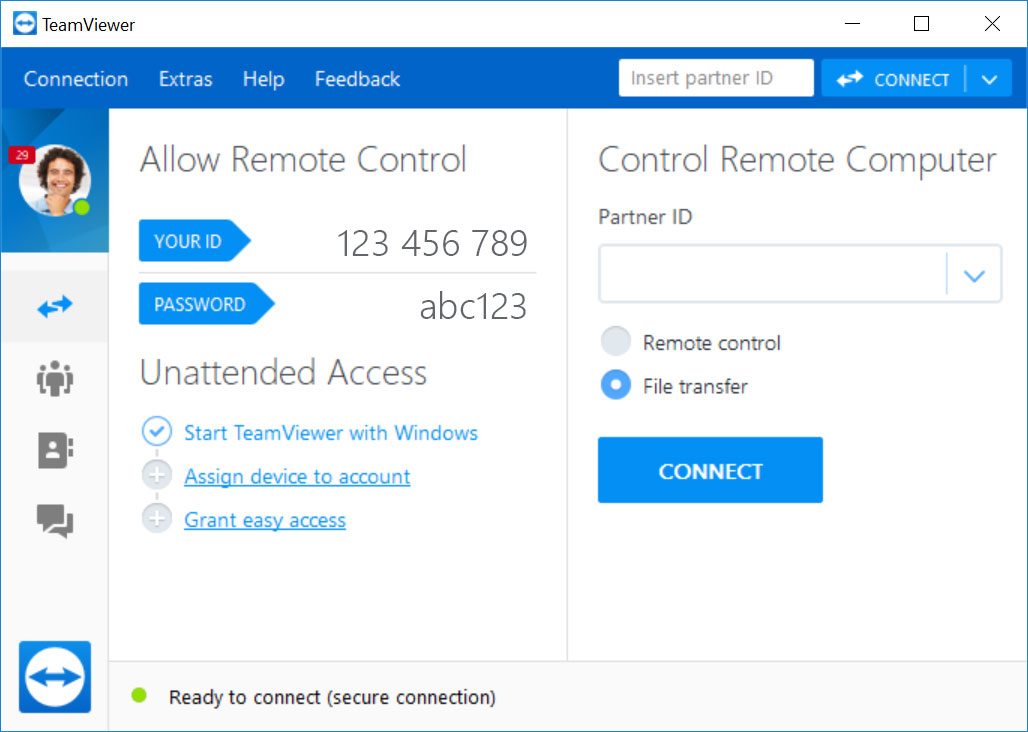 what is teamviewer remote control application